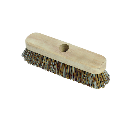 10'' Deck Scrub Broom with Handle  large
