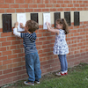 Outdoor Maths Number Rubbing Boards 1\-10  small