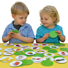 Healthy Food Matching Pairs Game  medium