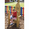 Outdoor Wooden Storytellers Chair  small