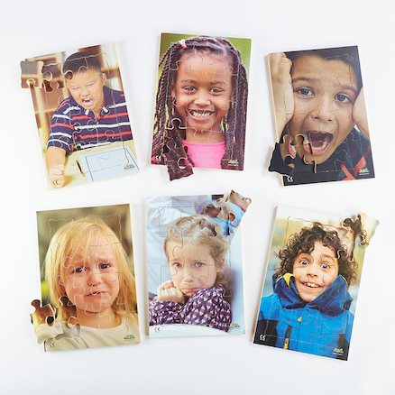 Photographic Emotions Jigsaw Puzzle 6pk  large