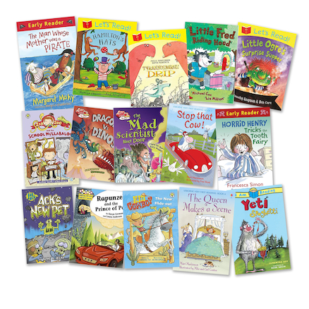 Year 2 Humorous Read Books 15pk  large