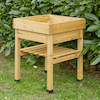 Veg Trug Kids Planter Natural Wood  small