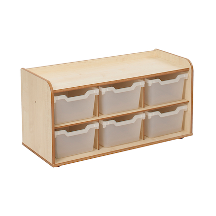 Solway Early Years Storage 6 Tray  large