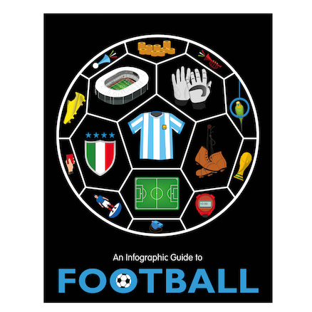 Infographic Guide to Football Hardback Book  large