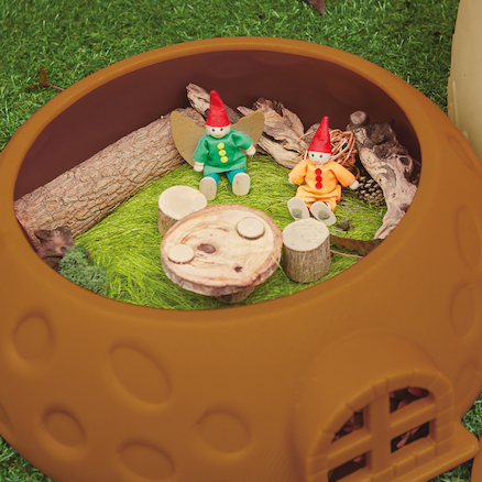 Toadstool Small World Fairy Cottage  large