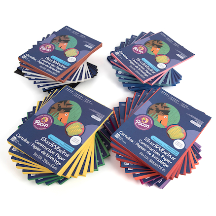 Construction Paper Assorted 230 x 300mm 2400pk  large