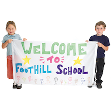Nylon Banner 76 x 137cm  medium