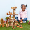 Rustic Play House Tower  small