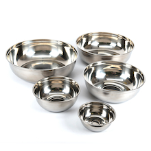 Metal Nesting Bowl Collection 5pcs  medium