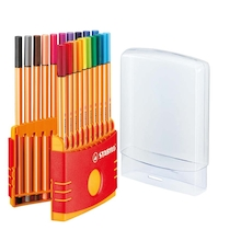 STABILO® Point 88 Fineliner Pens and Case 20pk  medium