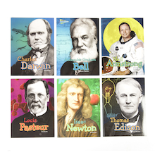 Famous Scientist Biographies Book Pack KS2 6pk  medium