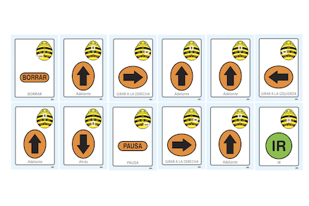 A5 Bee\-Bot\u00ae Sequence Cards 49pk  large