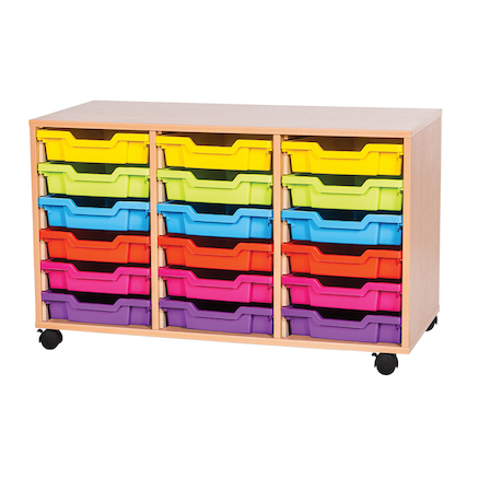 VALUE 18 Tray Storage Unit with Trays  large