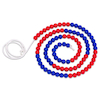 Red and Blue Bead String  small