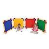 Set of 4 Coloured Square Divider Panels  small
