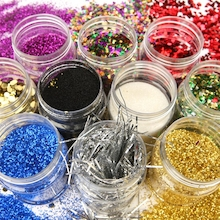 Bumper Glitter Set Assorted 230ml 10pk  medium