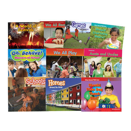 Early Years Identity and Diversity Books 10pk  large
