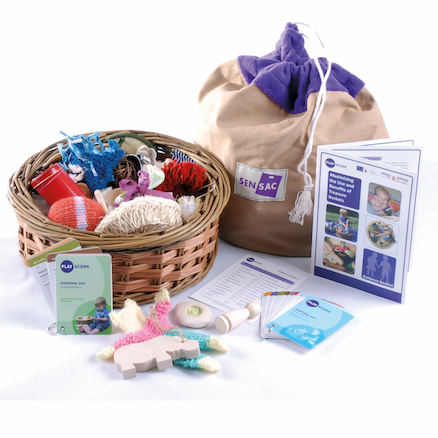 Playscope Heuristic Play Treasure Basket Kit 50pcs  large