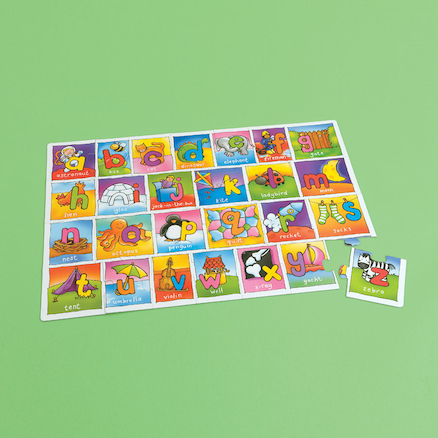 Giant Alphabet Jigsaw Puzzle  large
