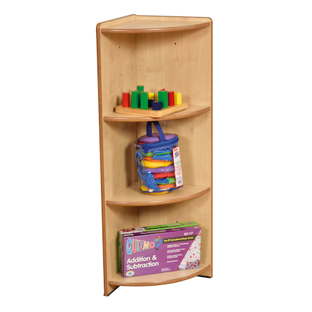 Modular Corner Bookcase Unit Multicoloured  large