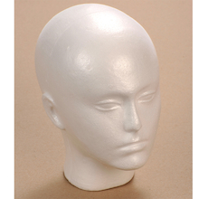 Polystyrene Modelling Head  medium