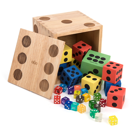 Dice Activity Box  large