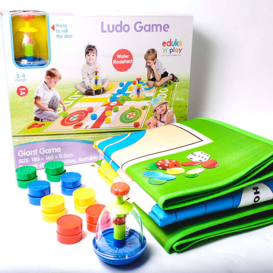 Buy Giant Ludo Outdoor Game Tts World Toys Science Circuit Basketball Games Sports Small