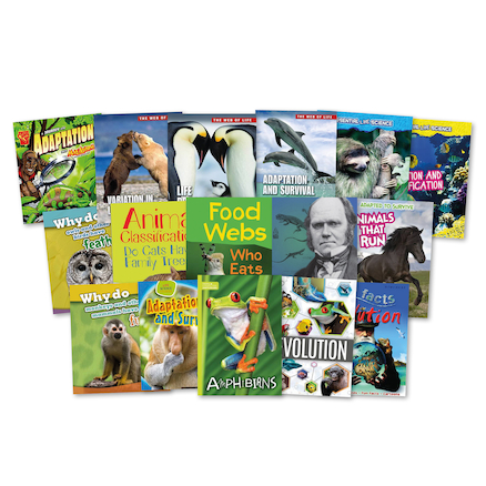 KS2 Evolution and Adaptation Books 16pk  large