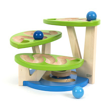 Modular Wooden Ball Run  medium