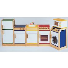 Coloured Edge Kitchen Range  medium