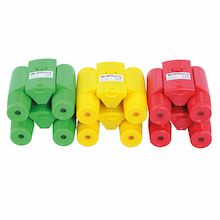 See and Speak Recordable Binoculars 6pk  medium
