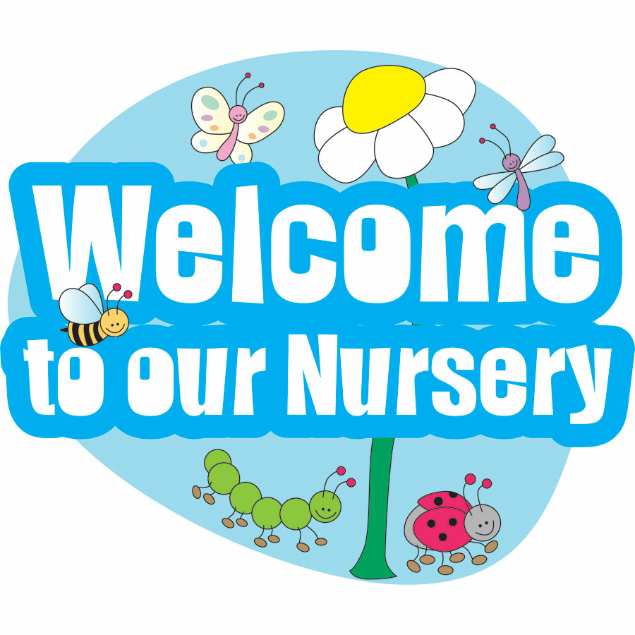 Buy Welcome To Our Nursery Sign Tts