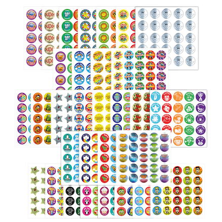 Assorted Motivational Reward Stickers 1149pk  large