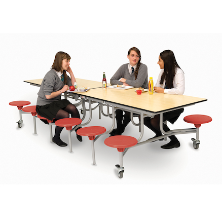 Rectangular 12 Seater Folding Table  large