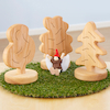 Small World Wooden Trees  small