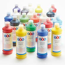 TTS Ready Mixed Paint Assorted 1l 16pk  medium