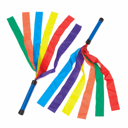 Six Colour Dance Wands 6pk  large