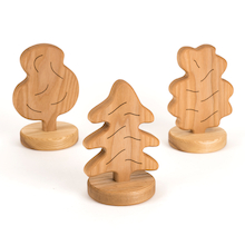 Small World Chunky Wooden Trees   medium