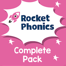 Reading Planet Rocket Phonics Complete Pack  medium
