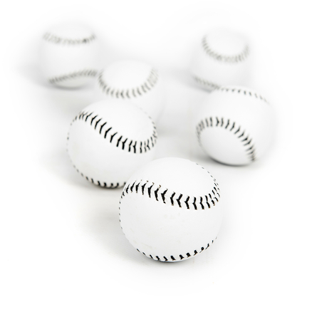 Rounders Practice Balls 6pk  large
