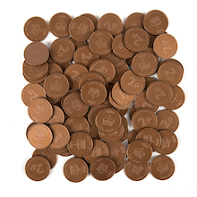 Two Pence Coin 100pcs  medium