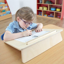 Portable Wooden Writing Slope  medium