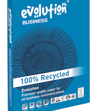 Evolution 100% Recycled Copier Paper 100gsm  medium