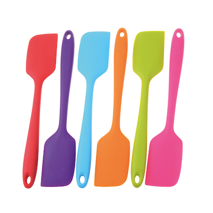 Assorted Coloured Mini Scrapers 6pk  large