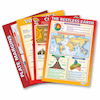 Volcanoes and Plate Tectonics Wall Charts A1 4pk  small