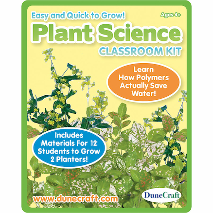 Plant Science Experiments Class Kit  large