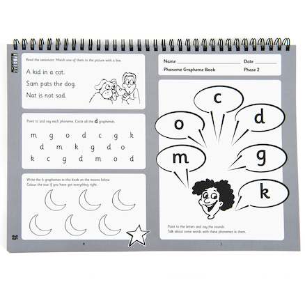 The Phoneme Grapheme Activity Kitbook  large