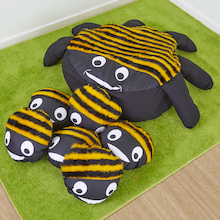 Bee Cushion and 15 Baby Bee Cushions  medium