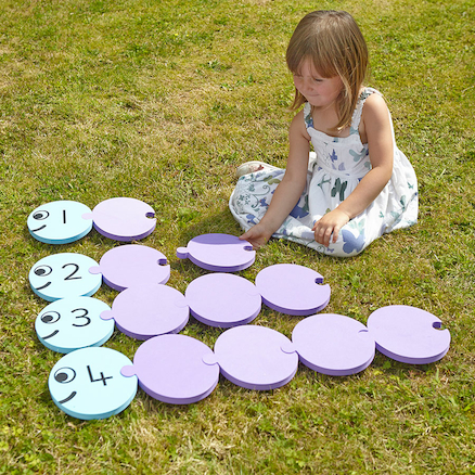 Giant Foam Outdoor Number Bond Game 1\-10 65pcs  large